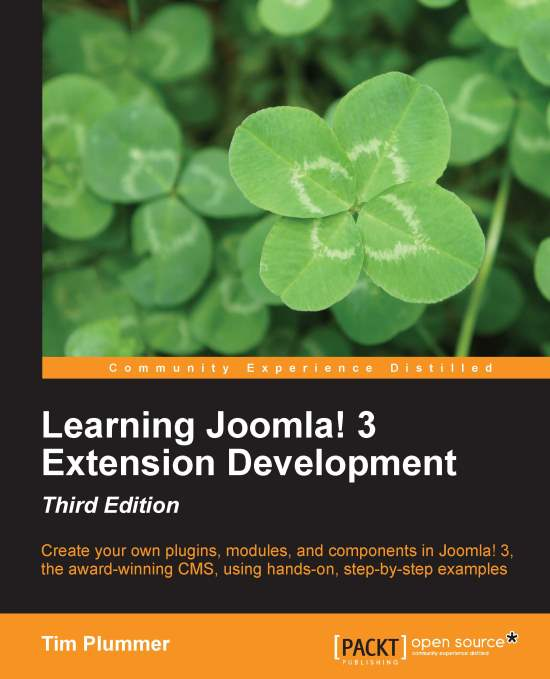 Learning Joomla 3 Extension Development
