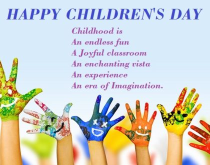 Maocular Celebrate Childrens Day